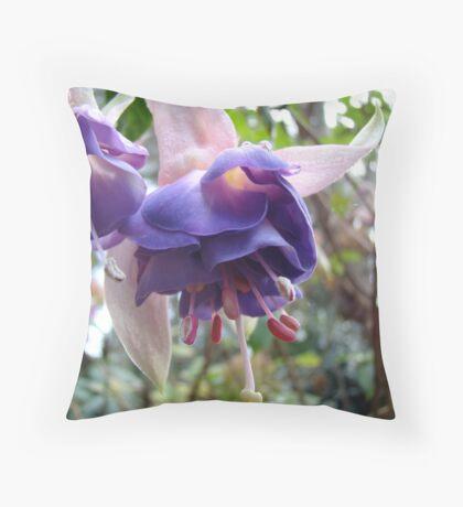Fuchsia XIV Throw Pillow