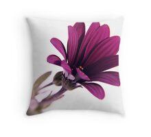 pure purple ... Throw Pillow