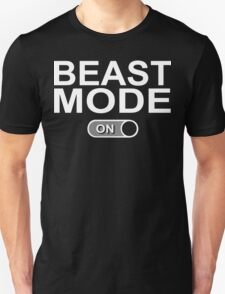 Beast Mode On Funny Geek Nerd Unisex T-Shirt