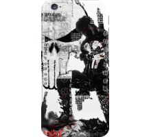 Punisher Gridwork & logo iPhone Case/Skin