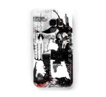Punisher Gridwork & logo Samsung Galaxy Case/Skin