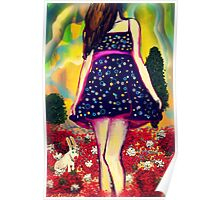 Spotted Dress Poster