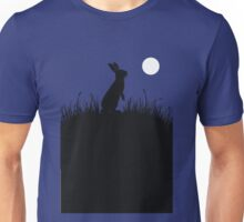 Moonlit Rabbit Unisex T-Shirt