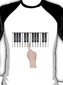 single hand T-Shirt