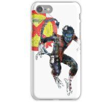 NightCrawler Gridwork design & logo iPhone Case/Skin