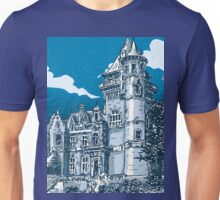 Old Castle in Belgium Unisex T-Shirt