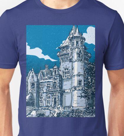 Old Castle in Belgium Unisex T-Shirt