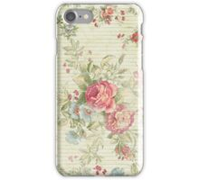 Retro roses iPhone Case/Skin