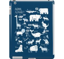 Animal Alphabet iPad Case/Skin
