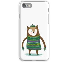 Retro Winter Bear iPhone Case/Skin