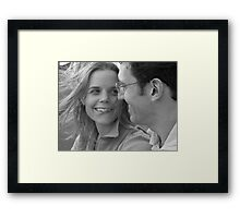 Loving You Framed Print