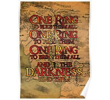 One Ring Poster