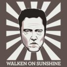 Walken on Sunshine - Christopher Walken (Dark Shirt Version) by FacesOfAwesome