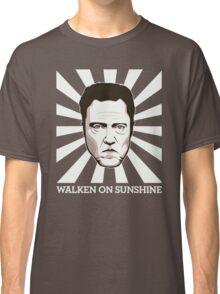 Walken on Sunshine - Christopher Walken (Dark Shirt Version) Classic T-Shirt