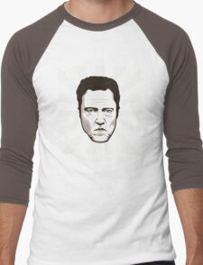 Walken on Sunshine - Christopher Walken (Dark Shirt Version) Men's Baseball ¾ T-Shirt