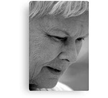 Dame Judi Dench Canvas Print