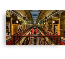 Adelaide Arcade HDR Canvas Print