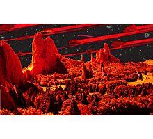 Asteroids over Colorado Photographic Print