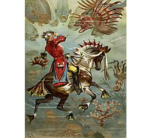 Baron Munchausen Photographic Print