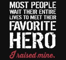 I Raised Mine Military Mom T-shirt by musthavetshirts