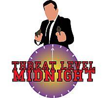 Threat Level Midnight Photographic Print