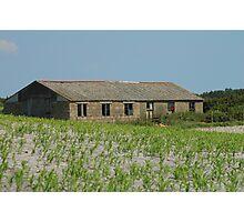 Farm Building Photographic Print