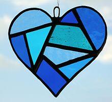 """Love Heart """"Blues"""" by Neil Witney"""