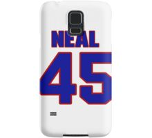 National baseball player Neal Watlington jersey 45 Samsung Galaxy Case/Skin