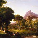 Thomas Cole – Denver Art Museum 1954.71. Dream of Arcadia (c. 1838) by Adam Asar