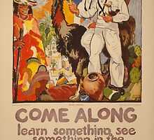 Come along - learn something, see something in the U.S by Adam Asar
