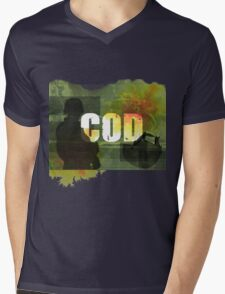 COD Crazy Mens V-Neck T-Shirt