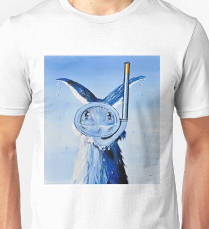 Hannes Seehas kobaltblau Unisex T-Shirt