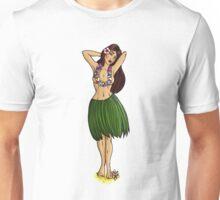 Pin Up Hula Girl  Unisex T-Shirt
