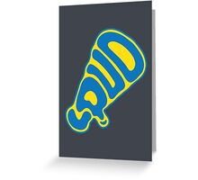 Out loud Greeting Card