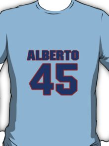 National baseball player Alberto Castillo jersey 45 T-Shirt