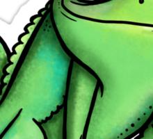 Pascal - Chameleon Rapunzel  Sticker