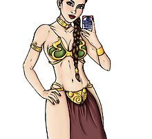 Princess Leia - Selfie Star Wars by HungryDesigns