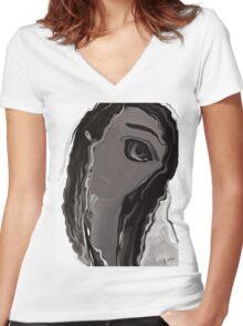 Banalata Sen Women's Fitted V-Neck T-Shirt