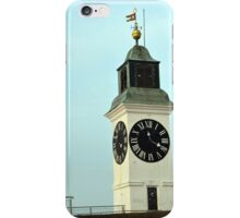 Petrovaradin Clock Tower iPhone Case/Skin