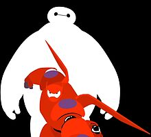 Protector Baymax by Heksiah