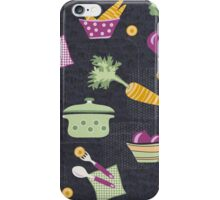 Cooking Veggie Pattern iPhone Case/Skin