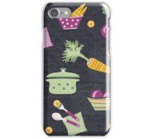 Cooking Veggie Pattern iPhone Case/Skin