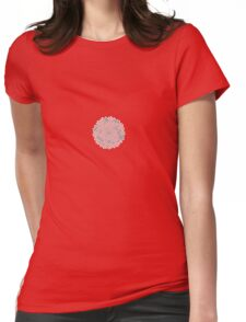 Spiral pattern Womens Fitted T-Shirt