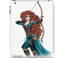 Steampunk Merida - Brave iPad Case/Skin
