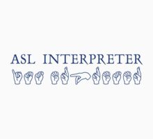 ASL Interpreter by Zehda
