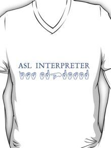 ASL Interpreter T-Shirt