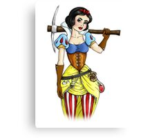 Steampunk Snow White Canvas Print