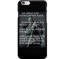 Rollo Lothbrok  - War Cry iPhone Case/Skin