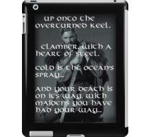 Rollo Lothbrok  - War Cry iPad Case/Skin