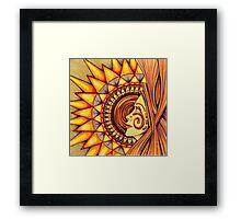 Sun Machine Framed Print